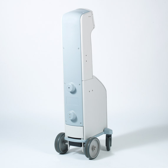 Thermoformed Multi-Part Medical Cart View #2