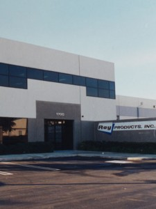 Exterior of Ray Products Facility in Ontario