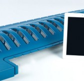 Semi Conductor Blue Thermoformed Plastic Tablet iPad