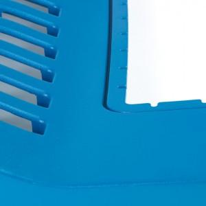 Semi Conductor Blue Thermoformed Plastic