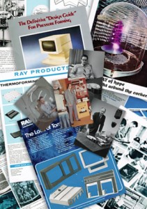 Ray Products History About Us Collage