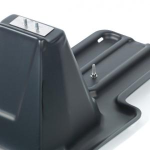 Solar Racking Black Thermoformed Plastic
