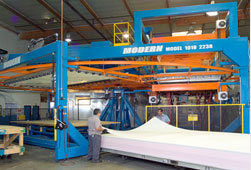 Large Scale Thermoforming