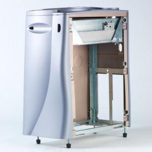Multi-Part Vented Medical Cart