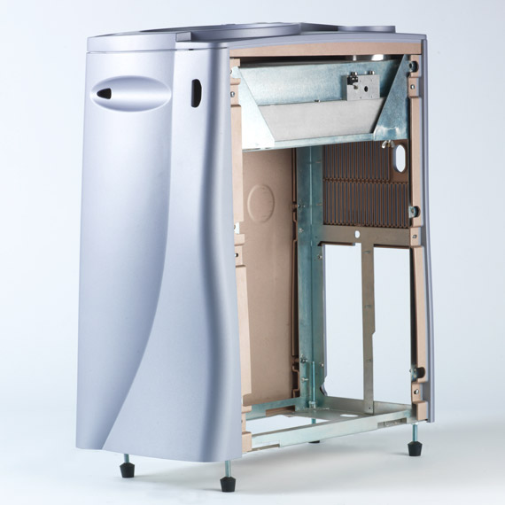 Thermoformed Multi-Part Vented Medical Cart View #5