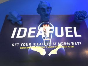Ideafuel Items that we gave out at MD&M West