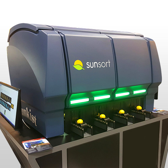 Thermoformed Sunkist® SunSort Optical Citrus Sorter View #1