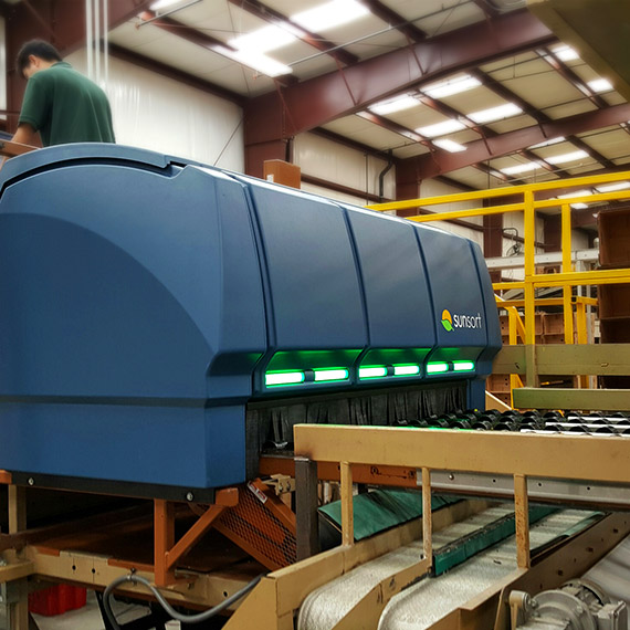 Thermoformed Sunkist® SunSort Optical Citrus Sorter View #3