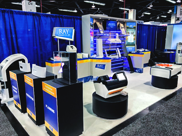 Ray Products at medical device manufacturing event