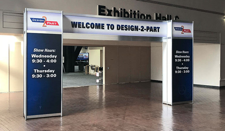 Design2Part Trade Show Long Beach 2018